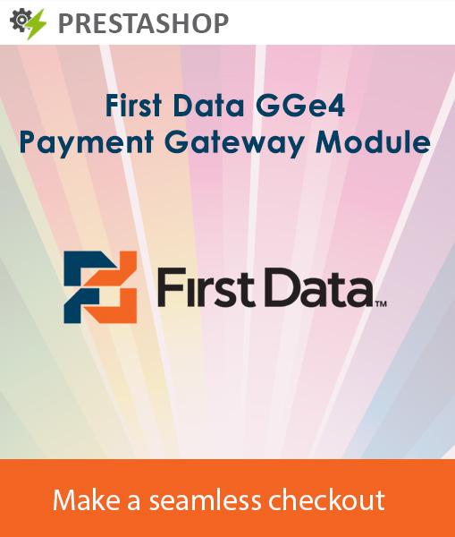 Prestashop First data