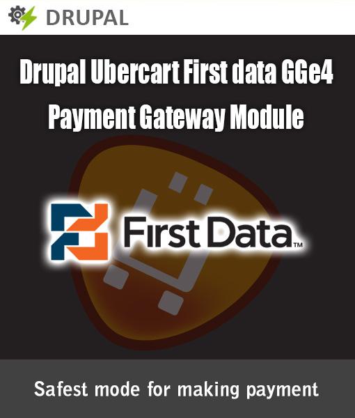 Drupal Ubercart First data GGE4