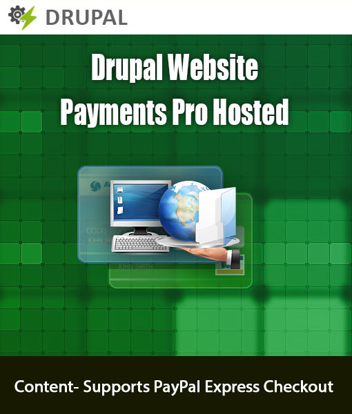 Drupal website Payment Pro hosted module
