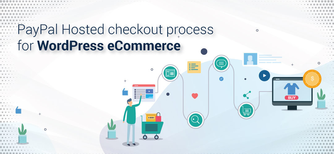 PayPal Hosted checkout process