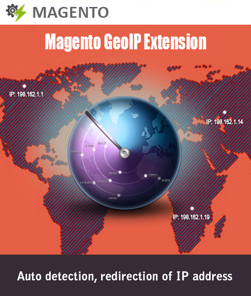 Magento GeoIP Module - Auto detect IP Address