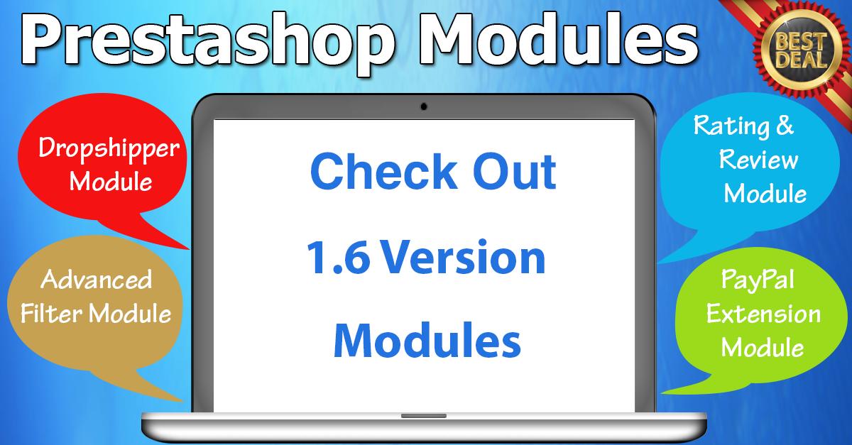 Best PrestaShop Modules