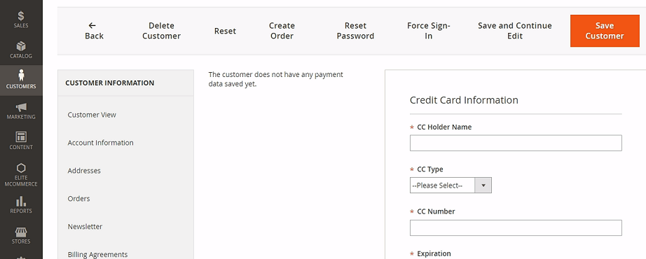 Magento First Data Extension