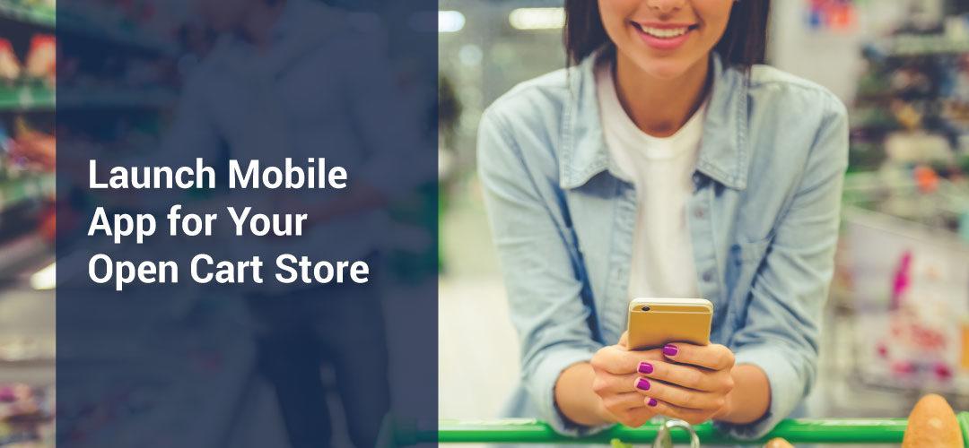 Open Cart 3 mobile app