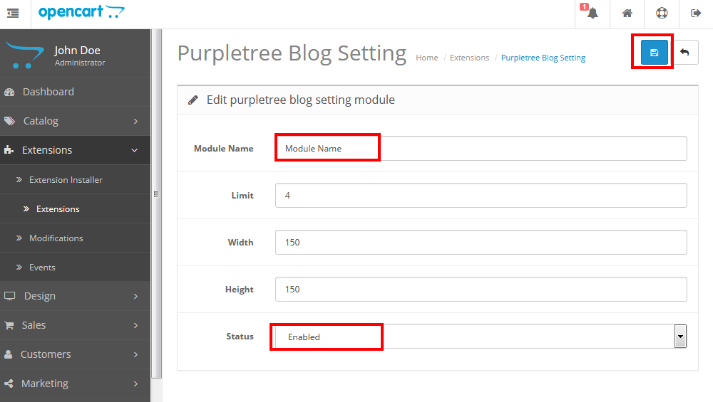 Opencart Blog Pro