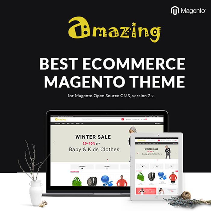Best Ecommerce Magento Theme