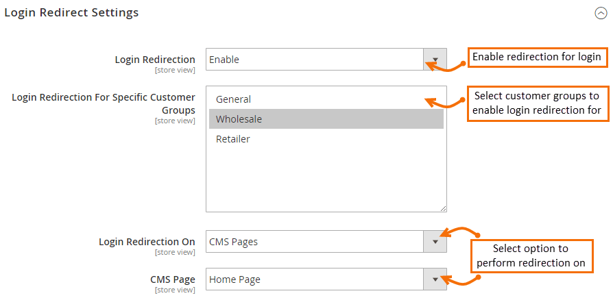 Magento 2 Custom Redirect