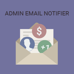 Admin Email NOTIFIER