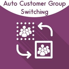 Magento 2 Auto Customer Group Switching