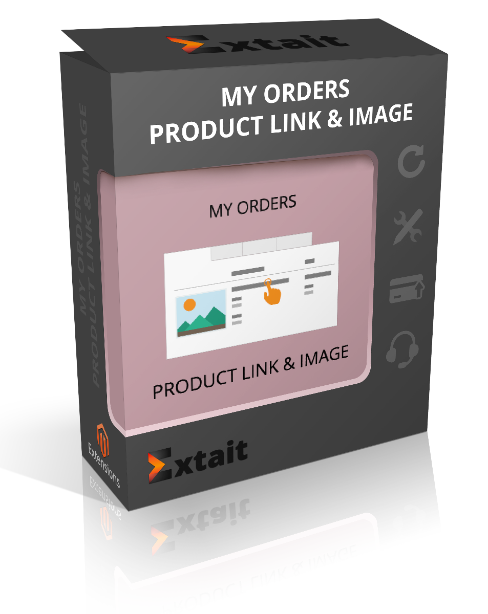 My Orders Product Link & Image