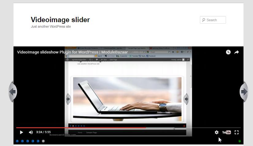 WordPress Video and Image Slider plugin