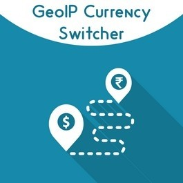 Magento 2 GEO IP Currency Switcher