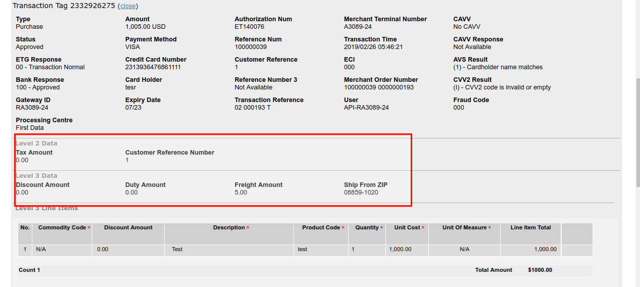 Magento Payeezy First Data GGe4 Extension