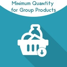 Magento 2 Minimum Quantity of Grouped Products
