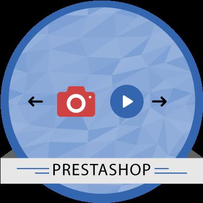 PrestaShop Video and Image Slider