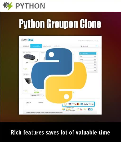 Python Groupon Clone