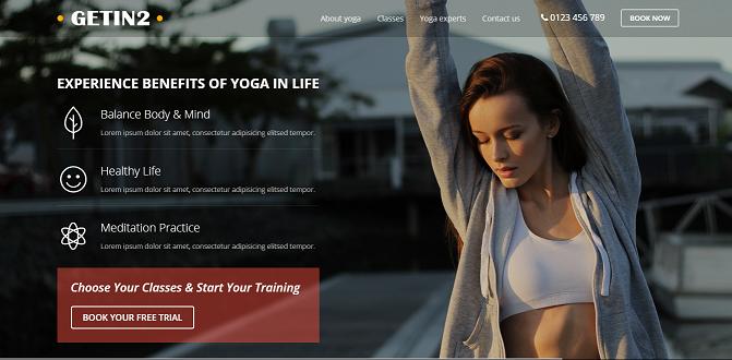 Yoga Template 1.0