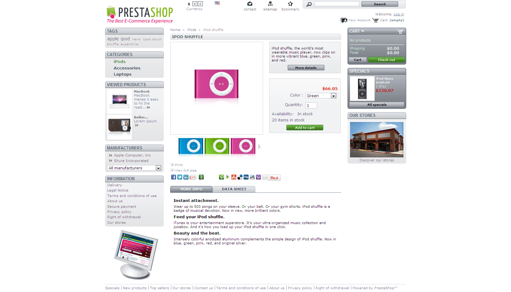 Prestashop Social Power Pack
