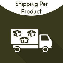 Magento Shipping Per Product