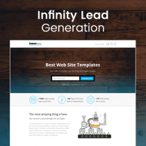 Lead Generation Landing Page HTML Template HTML Template - Landing page html template