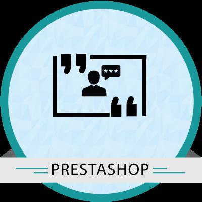 PrestaShop Testimonial module