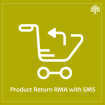 Product return RMA with SMS