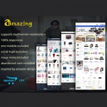 Amazing Responsive Opencart 3 Theme