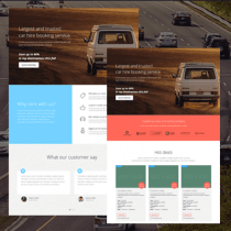 Car Rental HTML Template