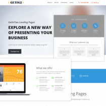My Bizz HTML Template
