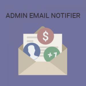 Admin Email NOTIFIER
