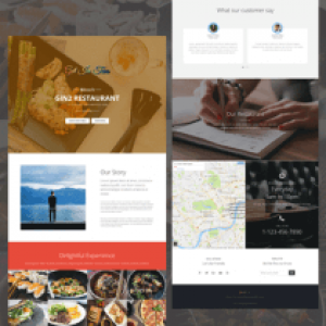 Live cafe Template
