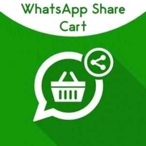 Magento WhatsApp Share Cart