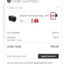edit item in cart