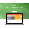 Financial Pro - Responsive HTML template S4
