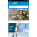 Elite mCommerce Fasion Store mobile app