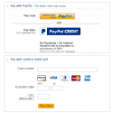 Checkout PayPal Payment Advanced Payment