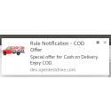 Rule Notification Web Notification