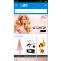 Elite mCommerce Toy Store mobile app