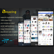 Amazing - Responsive Opencart 3 Theme  | 50% OFF