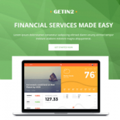 Financial Pro - Responsive HTML template for Financial Services and Legal Services