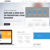My Bizz – Business landing Page responsive HTML Template